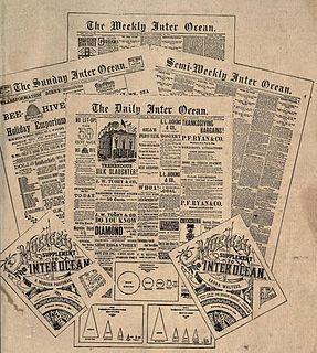 <i>Chicago Inter Ocean</i> Daily newspaper