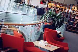 Uppsala University Library - Blåsenhus Library - One of the 11 subject libraries