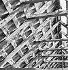 interieur kap noordzijde, kapconstructie, tijdens restauratiewerkzaamheden - bornwird - 20329563 - rce