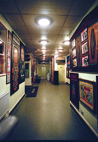 Cinema Museum (London) - Exhibits on the walls of the Cinema Museum