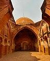 Interior complex of Katra Masjid.jpg