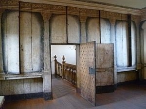 Argyll's Lodging - Interior wall decor