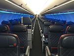 Interior of Delta Air Lines Airbus A321.jpg