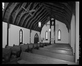 Interior view from southeast to rear of sanctuary. - St. Andrew's Chapel, 104 Maple Avenue, Sudlersville, Queen Anne's County, MD HABS MD-1391-6.tif