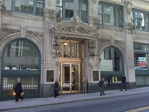 International Trust Company Building - Entrance to the International Trust Company Building