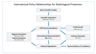 International Atomic Energy Agency - International policy relationships in radiological protection