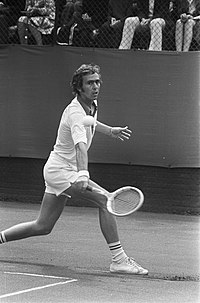 Geoff Masters 1973 bei den Dutch Open in Hilversum