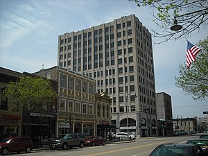 Zuelke Building - Zuelke Building, Appleton's first skyscraper, completed in 1931