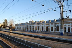 Ishim train station, may 2, 2011.jpg