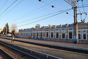 Ishim, Tyumen Oblast - Ishim railway station