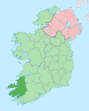 Island of Ireland location map Kerry.svg