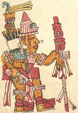 Itztapaltotec - Itztapaltotec, as depicted in the Codex Vaticanus B.
