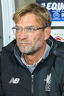 Jürgen Klopp German association football player and manager
