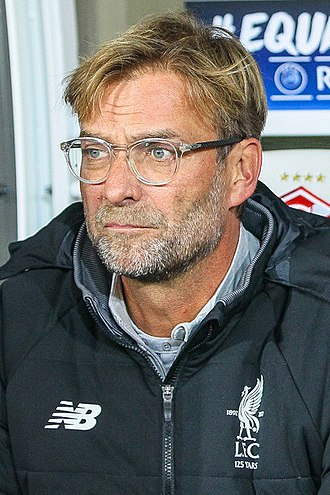 Head coach - Jürgen Klopp, manager of Liverpool F.C.