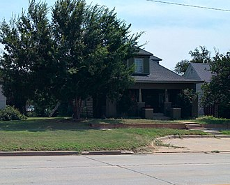 National Register of Historic Places listings in Beckham County, Oklahoma - Image: J. W. Danner House