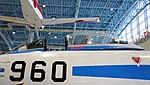 JASDF F-86F(02-7960) canopy left side view at Hamamatsu Air Base Publication Center November 24, 2014.jpg