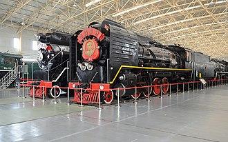China Railways JF1 - Image: JF304&JF1191 at China Railway Museum 20111007