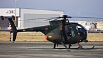 JGSDF OH-6(31306) right rear view at JASDF Komaki Air Base february 23, 2014.jpg