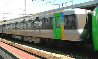 785 series - Image: J Rhokkaido Moha 785 303