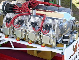 Flat-eight engine - Jabiru 5100 flat-eight aircraft engine