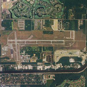 Jack Edwards Airport - NAIP aerial image, 2006