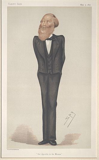 Jacob Bright - Image: Jacob Bright, Vanity Fair, 1877 05 05