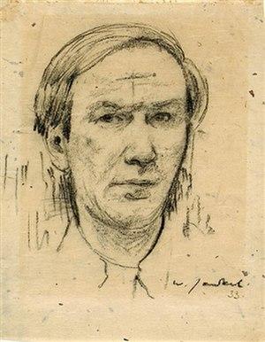 Willy Jaeckel - Self-portrait (1933)