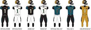 2017 Jacksonville Jaguars season - Image: Jags Uniforms
