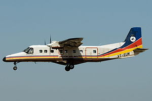 Jagson Airlines -  A Jagson Airlines Dornier 228 aircraft in current livery