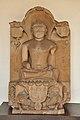 Jain Tirthankar Parshwanath - 1014 CE - Kagarol - ACCN 40-2874 - Government Museum - Mathura 2013-02-23 5075.JPG