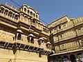 Jaisalmer Fort - beautifully carved buildings.jpg