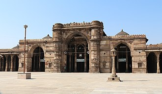 Ahmad Shah I - Jama Mosque of Ahmedabad was built by him in 1424.