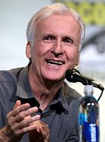 Photo of James Cameron at the 2016 San Diego Comic-Con International.