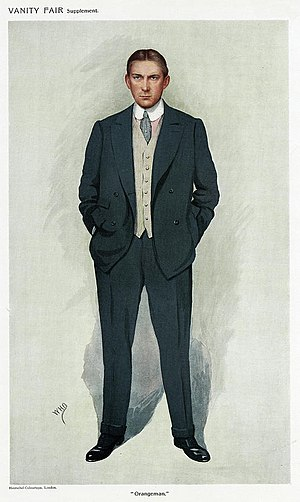 James Craig, 1st Viscount Craigavon - Craig caricatured by WHO for Vanity Fair, 1911