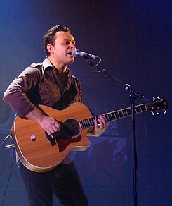 James Dean Bradfield with Manics in 2010.jpg