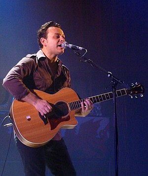 James Dean Bradfield - Bradfield in De Montfort Hall in 2010
