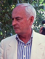 Photo of James Ivory in 1991.