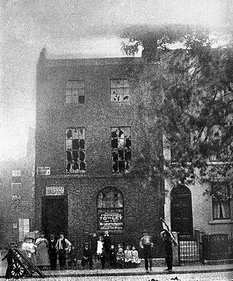 James Parkinson - Parkinson's home and office at 1 Hoxton Square