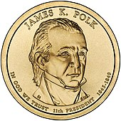 James K. Polk – Dollar
