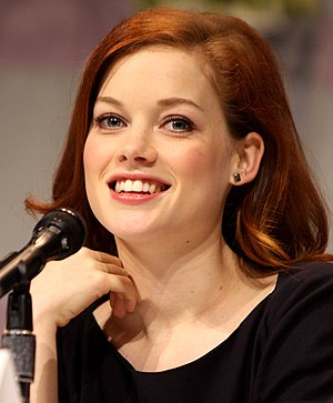 Jane Levy - Levy speaking at the 2013 WonderCon at the Anaheim Convention Center in Anaheim, California.
