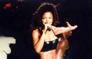 Janet Jackson - Jackson performing during one of the dates of her 1993–95 Janet World Tour