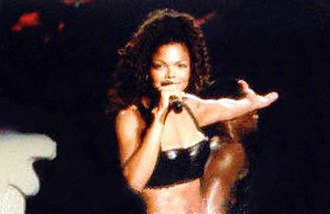 Janet Jackson - Jackson performing on one of the dates of her 1993–95 Janet World Tour