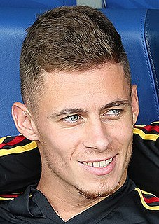 Thorgan Hazard Belgian footballer