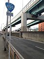 Japan National Route 495 and Route 1 Kashii Line of Fukuoka Expressway.jpg