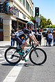 Jay McCarty of Bora Hansgrohe before the start of Stage 2 in Modesto (34906894991).jpg