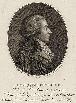 Jean-Baptiste Boyer-Fonfrède - Jean-Baptiste Boyer-Fonfrède.