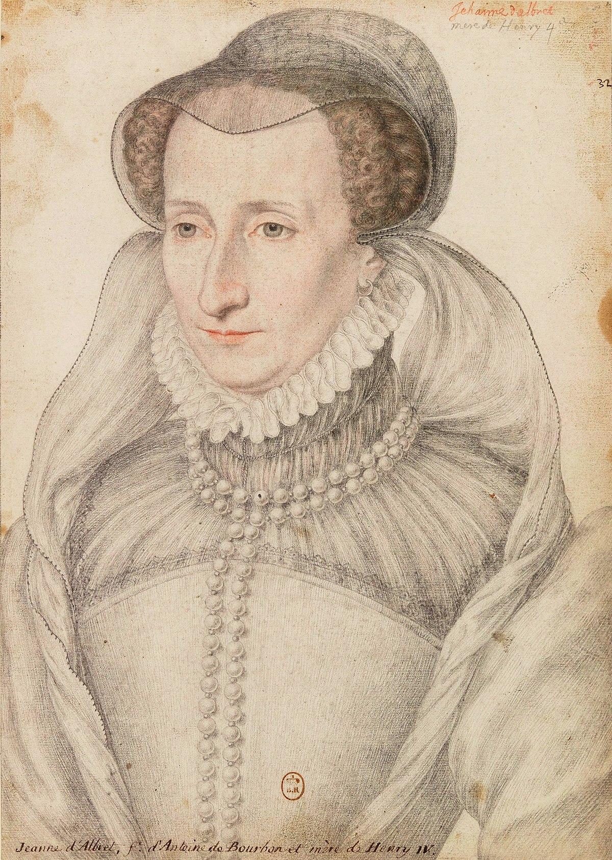 Jeanne d'Albret - Wikipedia