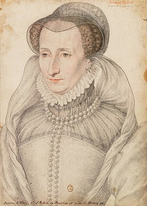 Battle of Orthez (1569) - Jeanne d'Albret, a leading Huguenot figure.