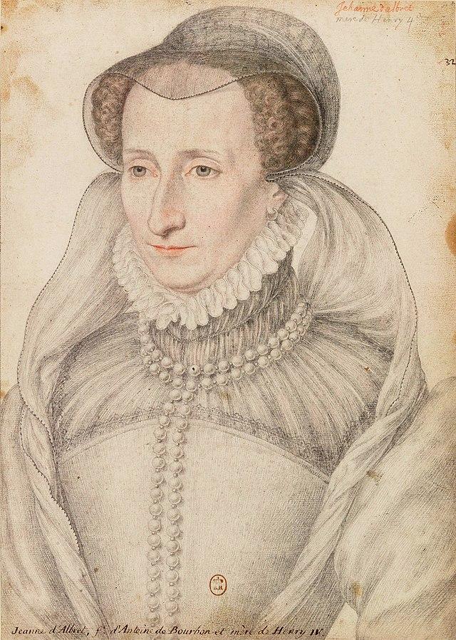Wikipedia--Juana III de Navarra.