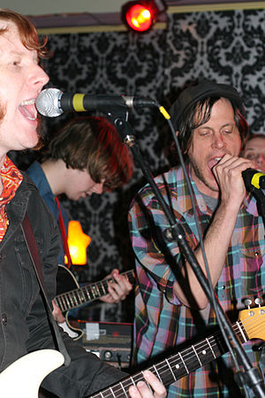 Jeff Mangum - Mangum (right) in Pittsburgh, 2008